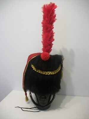French Napoleonic Hussars Black Bearskin 1805 style colpack