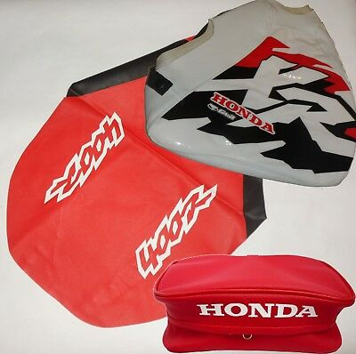 Kit Cover Honda Xr 400 1997 Seat Cover Tank Cover + Rear Fender Bag