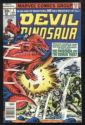 Devil Dinosaur (1978) #7 1st Print Moon Boy Demon Tree Jack Kirby Sty/Cov/Art NM