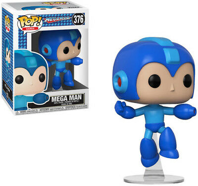 Megaman - Megaman (Jumping) - Funko Pop! Games (2018, Toy NUEVO)