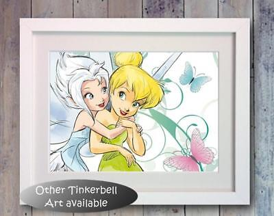 DISNEY FAIRIES FAIRY Tinkerbell Poster Picture Print Photo wall Art ...