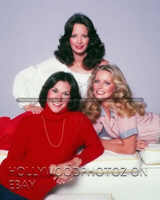 Charlies's Angels cast Cheryl ladd Jaclyn Smith Kate Jackson sexy 8x10 Photo 3