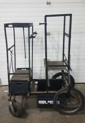 Backstage Grip Cart, Holds Apple Boxes, C-stands etc. Great for Grip Trucks