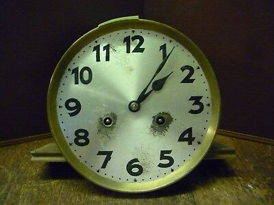 Original Art Deco Junghans Striking Wall Clock Spring Driven Movement+Dial (6)