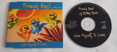 Status Quo Francis Rossi - Give Myself To Love UK CD