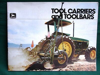 John Deere Tool Carriers and Toolbars ~1980 Catalog