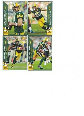 2018 Green Bay Packers Police Team Set Aaron Rodgers Clay Matthews Davante Adams