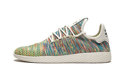 d3aacca083b5 CQ2631 Pharrell Williams Rainbow Mens Adidas PW Tennis HU Primeknit