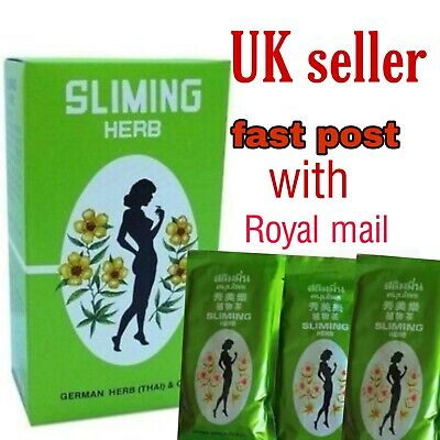 German SLIMMING HERB TEA - Sliming Weight Loss Diet Detox (30 Bags)