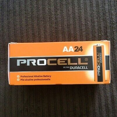 NEW Duracell Procell AA Alkaline Battery - 24 Count ( 6 packs or 4 )