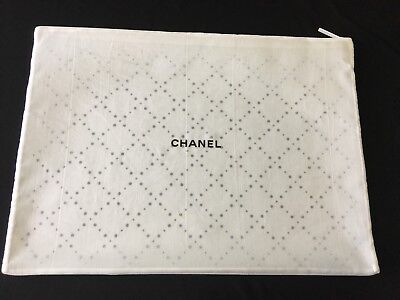 "Authentic CHANEL Garment Zip Travel Tote Bag 18 x 13"" Sealed and Brand New!!"