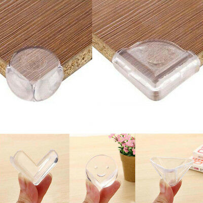 5/10Pcs Soft Clear Desk Edge Corner Guard Cushion Baby Child Safety Protector