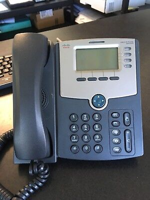 Cisco SPA504G 4-Line IP Phone, With No Power Adapter!