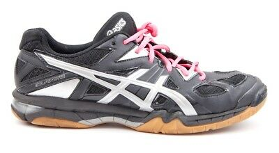 ASICS GEL TACTIC WOMEN'S US Size 9.5 Volleyball Shoe Black