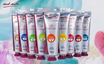 Mont Marte Oil Paint 100ml - 37 Colours Available