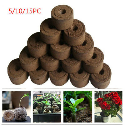 30mm Pellets Seed Starting Plugs Pallet Seedling Soil Block Easy to Operate Hot