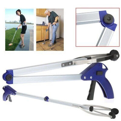 Handy Reacher Grabber Folding Aluminum Litter Picker Long Arm Reaching