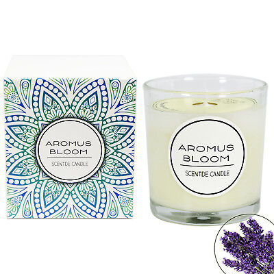 Natural Essential Oils Scented Candle Gift Soy Wax Aromatherapy Candle Lavender
