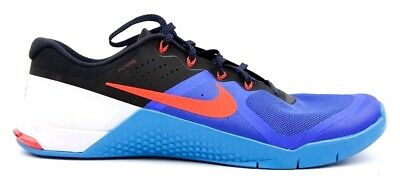 e9bb739d9c08 Nike Metcon 2 Racer Training Shoe Blue Bright Crimson Glow 819899-464 -