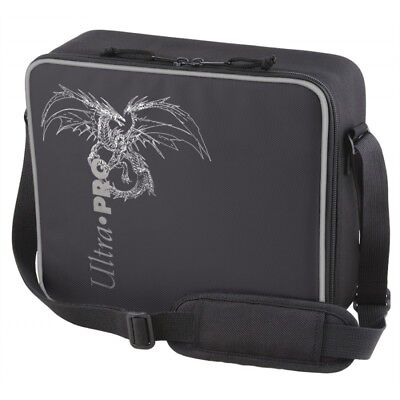 Deluxe Gaming Case Black - Dragon with Silver Trim