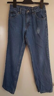 GEORGE Boys Adjustable Waist Denim Jeans 9-10 years