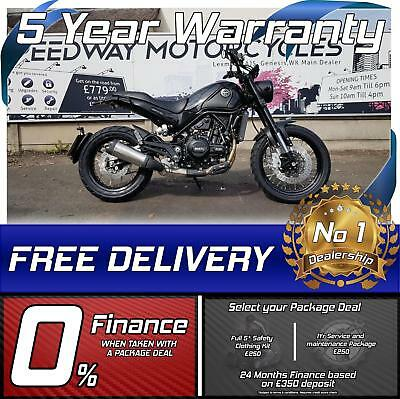 Benelli leoncino Trail 500cc 47bhp A2 Licence scrambler classic motorcycle
