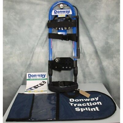 Donway Traction Splint Pneumatic traction splint for leg injuries