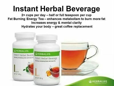 Herbalife - Peach - Instant Herbal Beverage Tea Concentrate