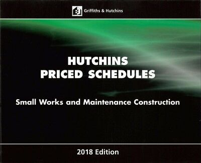 Hutchins Priced Schedules Small Works and Maintenance Construction 2018