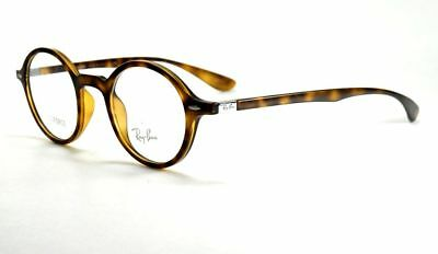 Ray Ban Eyeglasses Ray-Ban Lite Force RB7069 5200 Matte Havana Frames 49mm Italy