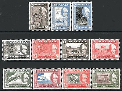 Malaysia-Penang 1960 Coat of Arms set of 11 Mint Unhinged