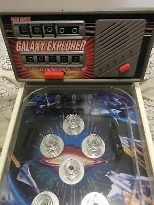 Antique Electronic Pinball Game — Galaxy Explorer  Works Great!