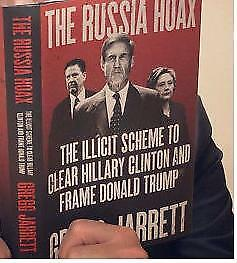 The Russia Hoax: Illicit Scheme to Clear Hillary Clinton..Hardcover-New-FreeShip