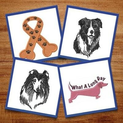 Adorable Dogs! - 18 Machine Embroidery Designs