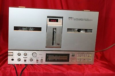 Akai GX-77 Auto Reverse Reel to Reel with Bi-Directional Recording - See Video