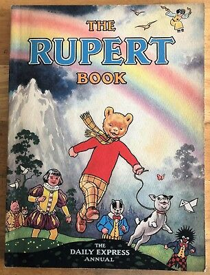RUPERT BEAR ANNUAL 1948 Neatly Inscribed Not Price Clipped FINE example..