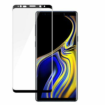 For Samsung Galaxy Note 9【HD Clear】 Tempered Glass Screen Protector Clear