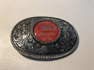 25th Anniversary (Fredericksburg Auto Parts Inc.) Belt Buckle