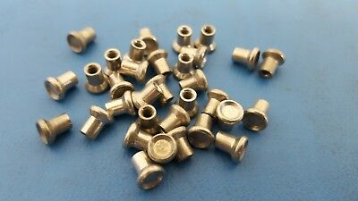 "Self Piercing Rivets (SPR), 3.3 x 3.5mm, 0.1325 x 0.15"", LIT, 25 Pcs"