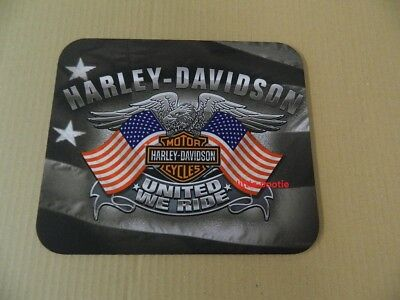 Harley-Davidson Mousepad Mouse Pad Mauspad United we ride - Eagle banner MO12584