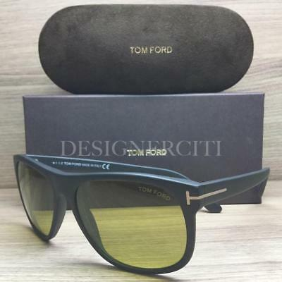 189a12285f47d Tom Ford Olivier TF 236 TF236 Sunglasses Matte Black 02N TFL Authentic 58mm