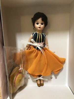 """RARE!! Madame Alexander """" An American In Paris """" Limited Edition 10"""" Doll"""