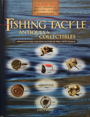 Fishing Tackle Antiques & Collectibles Vol 2: Reels, Spoons & Spinners, Hooks...