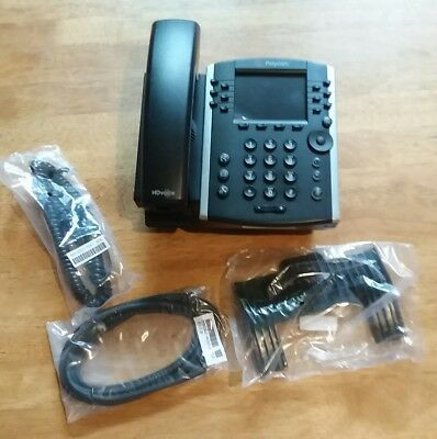 Polycom Inc VVX 411 12-Line IP Phone Gigabit PoE , 2200-48450-025