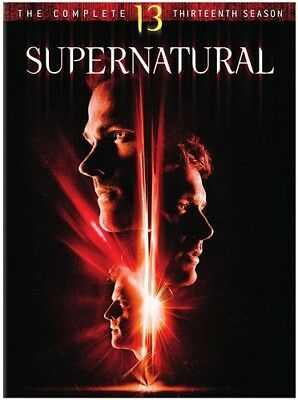 Supernatural: Complete Thirteenth Season - 5 DISC SET (2018, DVD NUO (REGIONE 1)