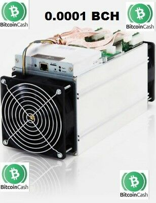 BCH Bitcoin Cash 1Hour Mining Contract on 12.5TH/S speed (0.0001 BCH)