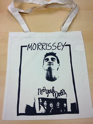 Morrissey New York Dolls   Cotton Tote Bag   Free Uk Postage