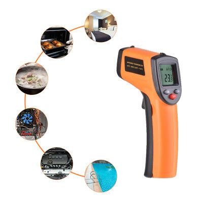 Non-Contact IR Infrared Laser Digital Temperature Thermometer Gun -50-380℃ BI902