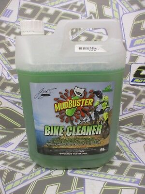 Mudbuster Bike Cleaner Motorcycle Motocross Off Road Cleaner Clean - 5 Litres