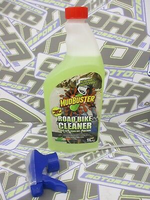 Mudbuster Road Bike Cleaner Motorcycle / Race / Track Cleaner Clean - 1 Litre